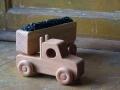 wooden toy coal truck