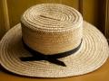 shaker men's straw hat