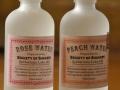 rose + peach water