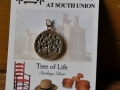Shaker tree of life sterling charm