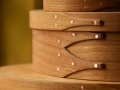 oval shaker boxes detail