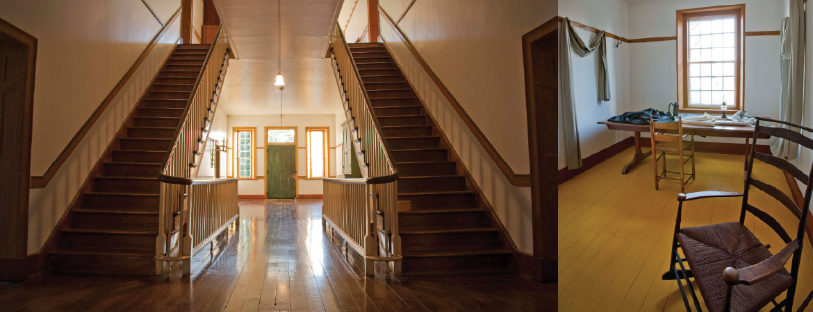 shaker-village-south-union-interior
