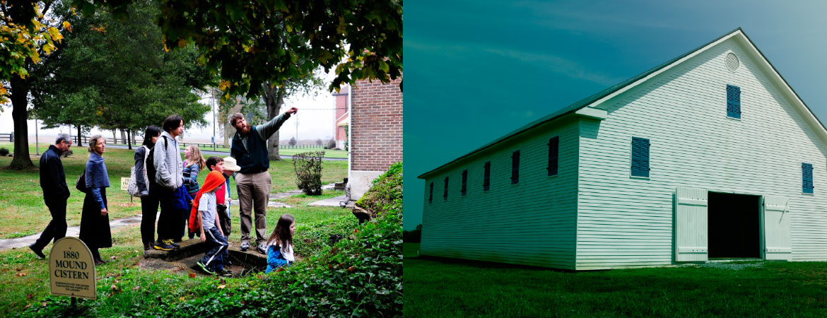 shaker-village-south-union-students-+-barn